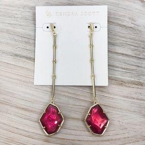 Kendra Scott Berry Gold Charmaine Drop Earrings